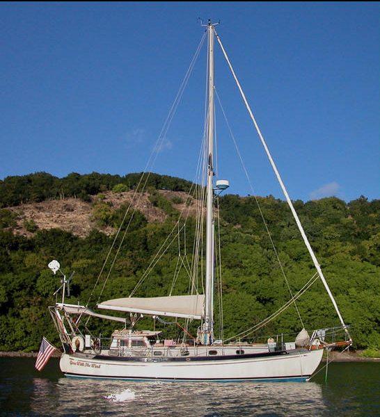 GWTW at anchor