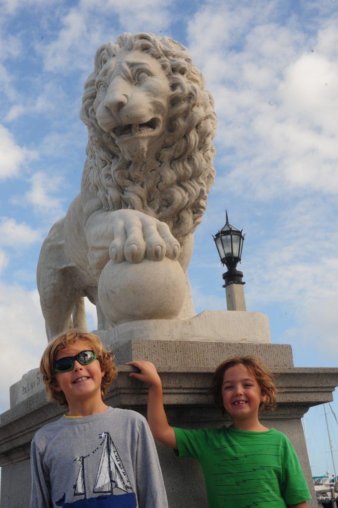 St Augustine Lion