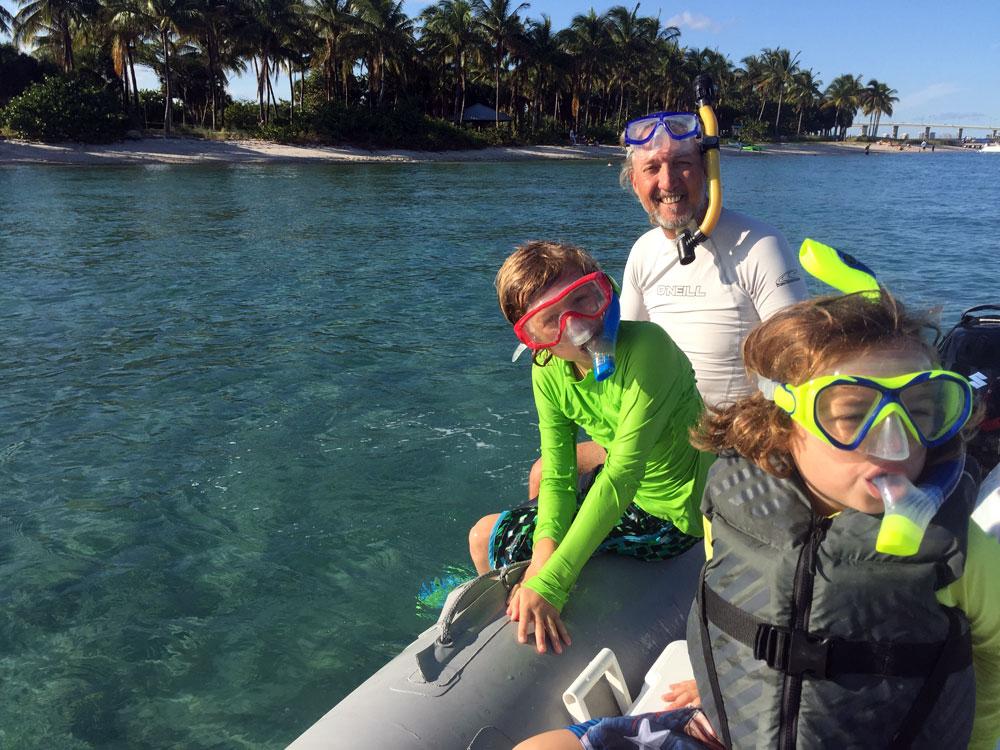 snorklers